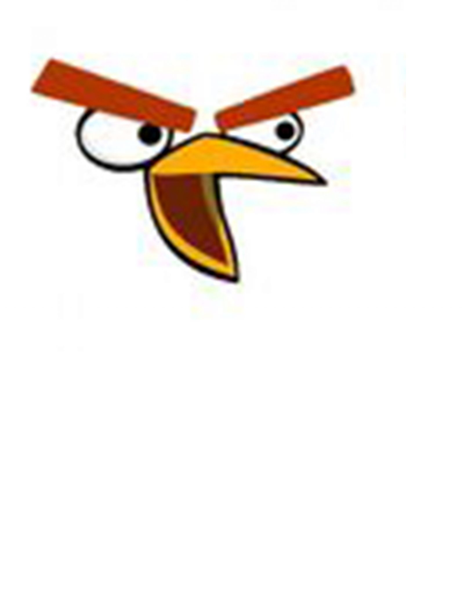 image regarding Angry Birds Printable Faces referred to as Offended Birds Celebration Cost-free Printables