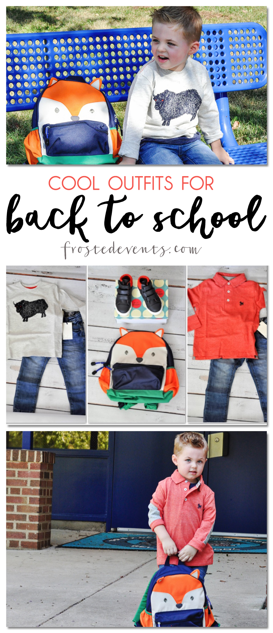 Back to School Outfit Ideas Mini Boden Kids Fashion Clothes @frostedevents