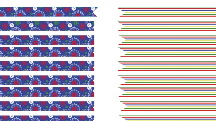 Printable Drink Flags Olympics