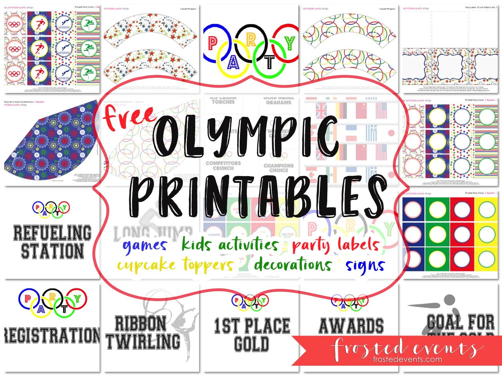 photo regarding Printable Olympic Schedule known as Olympics for Youngsters - Exciting Olympic Game titles and Occasion Printables