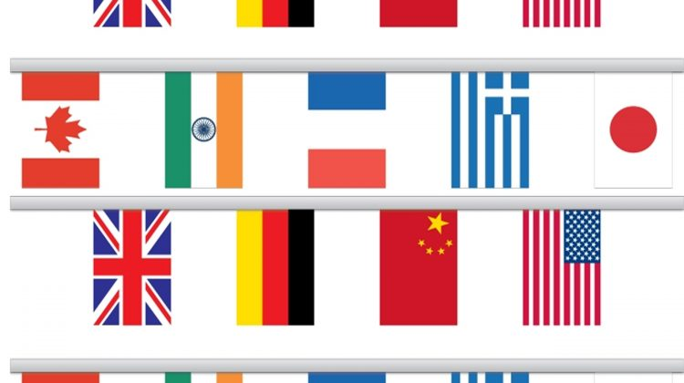 Olympic Printables Page of Flags