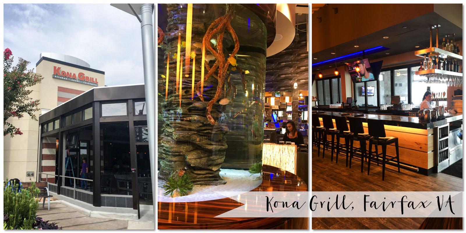 Restaurants Fairfax Va Kona Grill Review Fair Oaks Mall