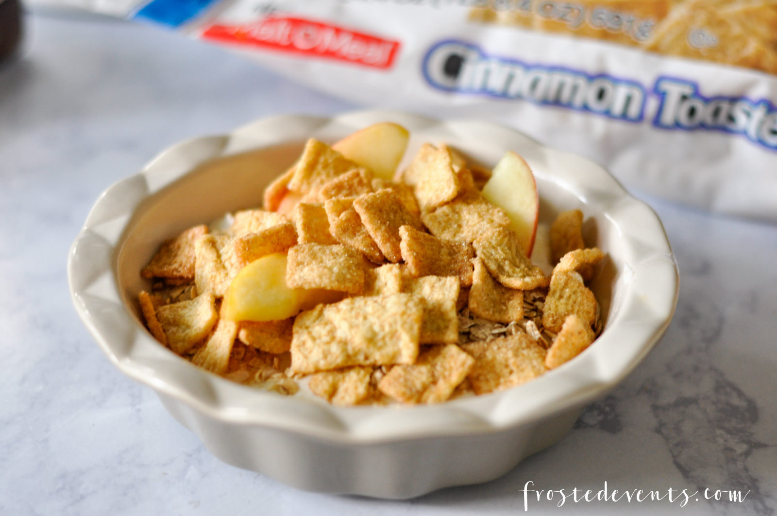 Cereal Hacks Yummy Snacks for Breakfast or Dessert with Malt-O-Meal bagged cereal, recipe by frostedevents.com @frostedevents