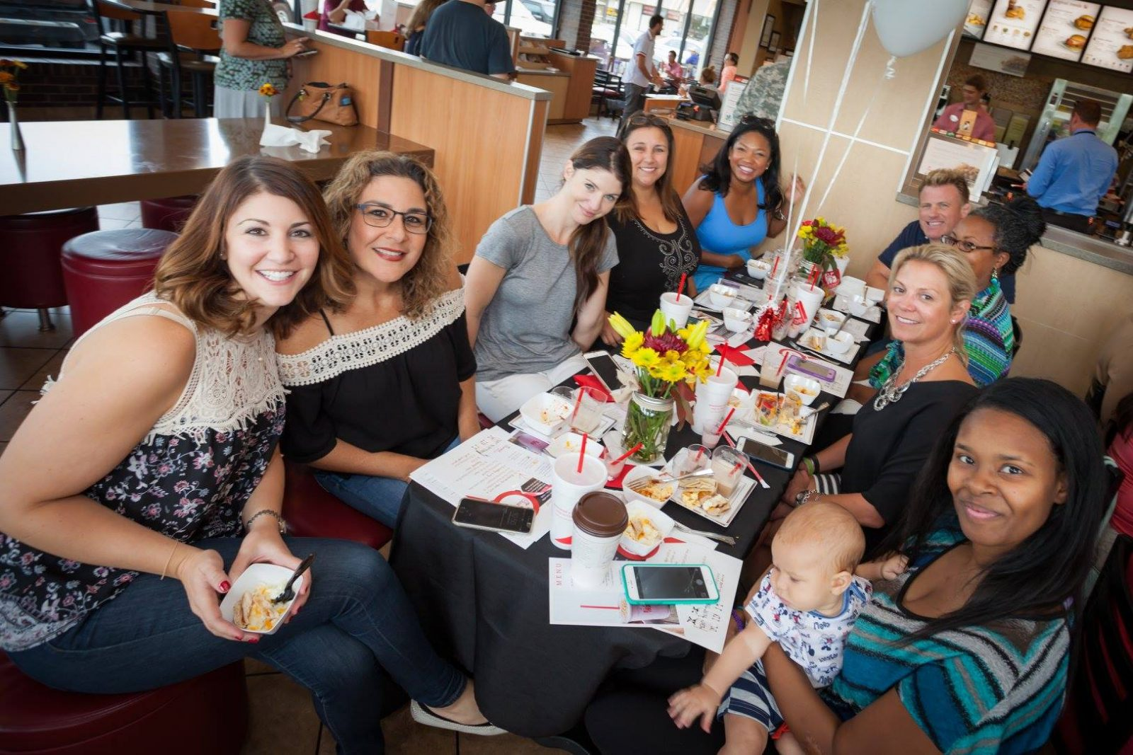 Chick-fil-A Moms Nova Mom Bloggers Event New Breakfast Menu Seven Corners