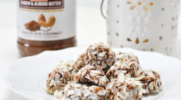 Chocolate Nut Butter Truffles Recipe with LARA Nut Butter frostedevents.com @frostedevents Dessert Recipes Snacks and Treats