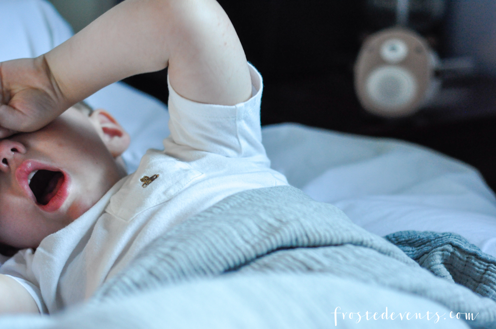 Getting Your Toddler to Sleep Without a Struggle via Misty Nelson @frostedevents Soundbub