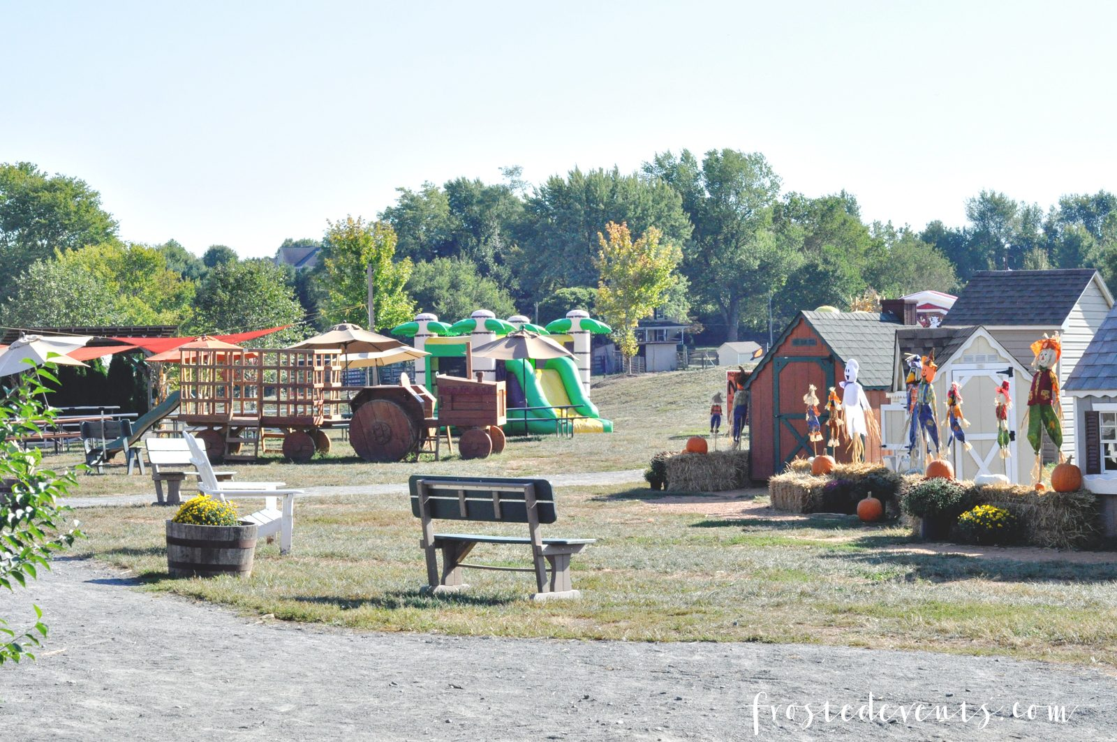 Leesburg Animal Park Pumpkin Village Northern Virginia Things to do with Kids via mom blogger Misty Nelson @frostedevents VA DC MD moms