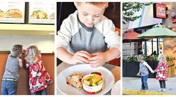 Zoe's Kitchen's New Kids Menu by mom blogger Misty Nelson @frostedevents