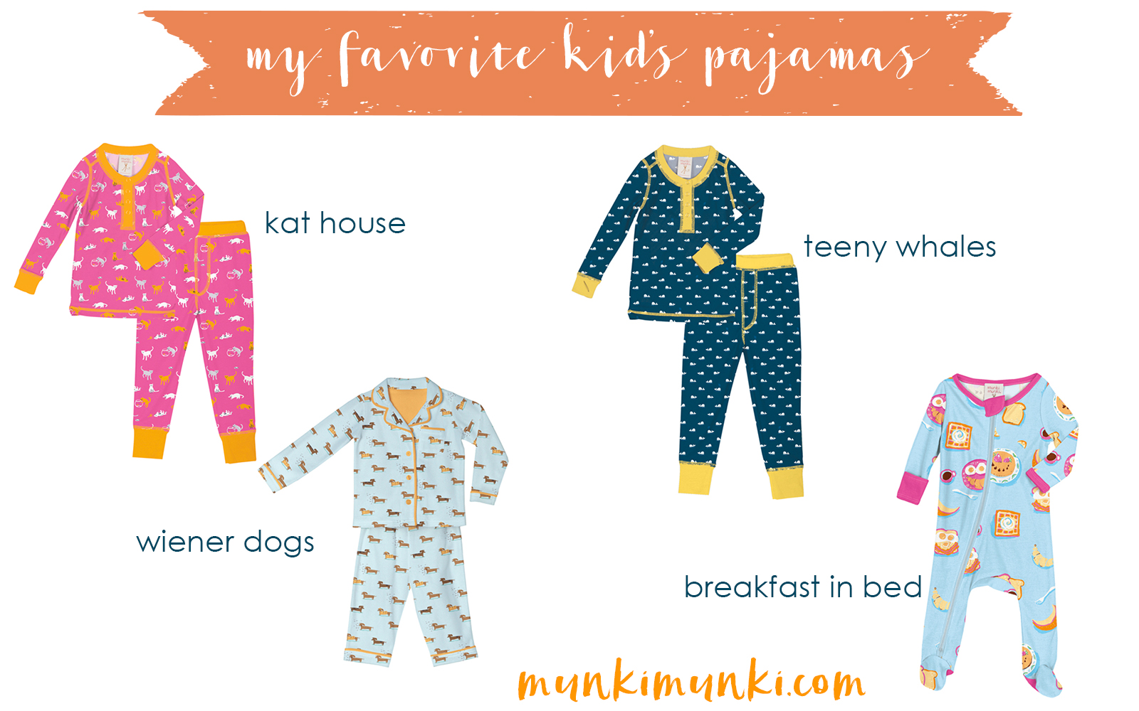 Gifts for Mom, Gifts for Her, Gifts for Girls, Gifts for Kids Holiday Gift Guide via Misty Nelson @frostedevents These pajamas from Munki Munki are so cute and cozy... #munkimunki