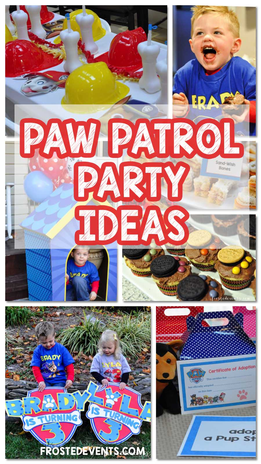 Paw Patrol Party Ideas Birthday Frostedevents Pinterest