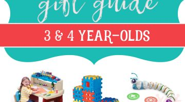 Top Toys for Christmas 3 and 4 year olds Holiday Gift Guide via frostedmoms