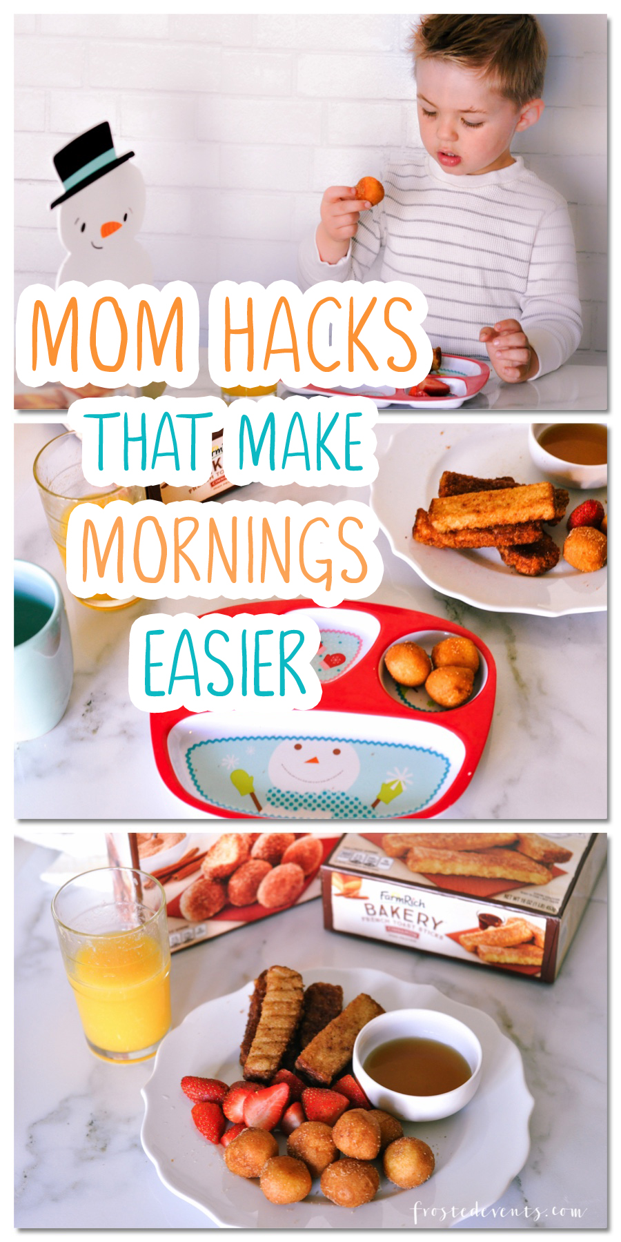 Morning Routine Mom Hacks That Make the AM Easier via @frostedevents  Misty Nelson  mom blogger  frostedMOMS.com