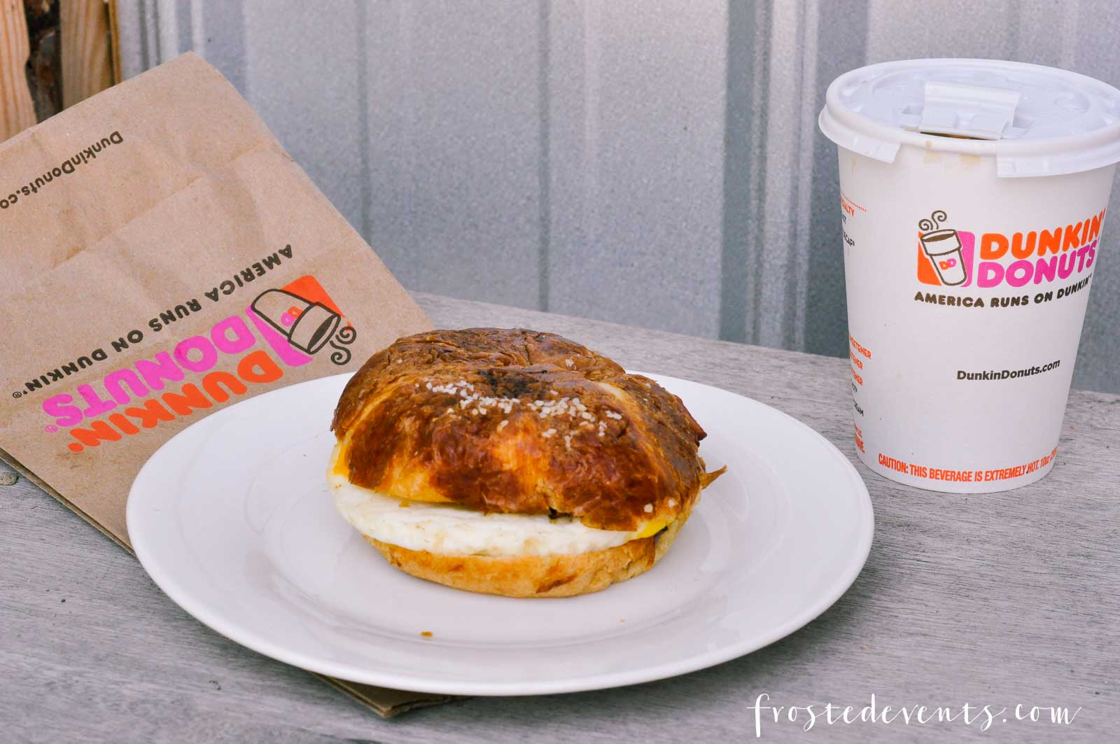 Dunkin' Donuts Breakfast Menu Is Even Better With the New Pretzel Croissant Breakfast Sandwich via Misty Nelson mom blogger @frostedevents frostedMOMS.com