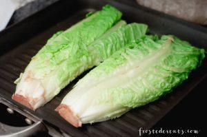 Cheese Recipes - Grill Recipes - Roasted Romaine Salad made with real, fresh cheese via Misty Nelson @frostedevents