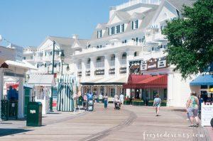 Disney Boardwalk Inn - Disney World Resorts - Disney Vacation planning via Misty Nelson family travel blogger @frostedevents
