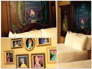 Disney World Resorts Disney Themed Rooms Princess and the Frog at Port Orleans Resort via Misty Nelson @frostedevents