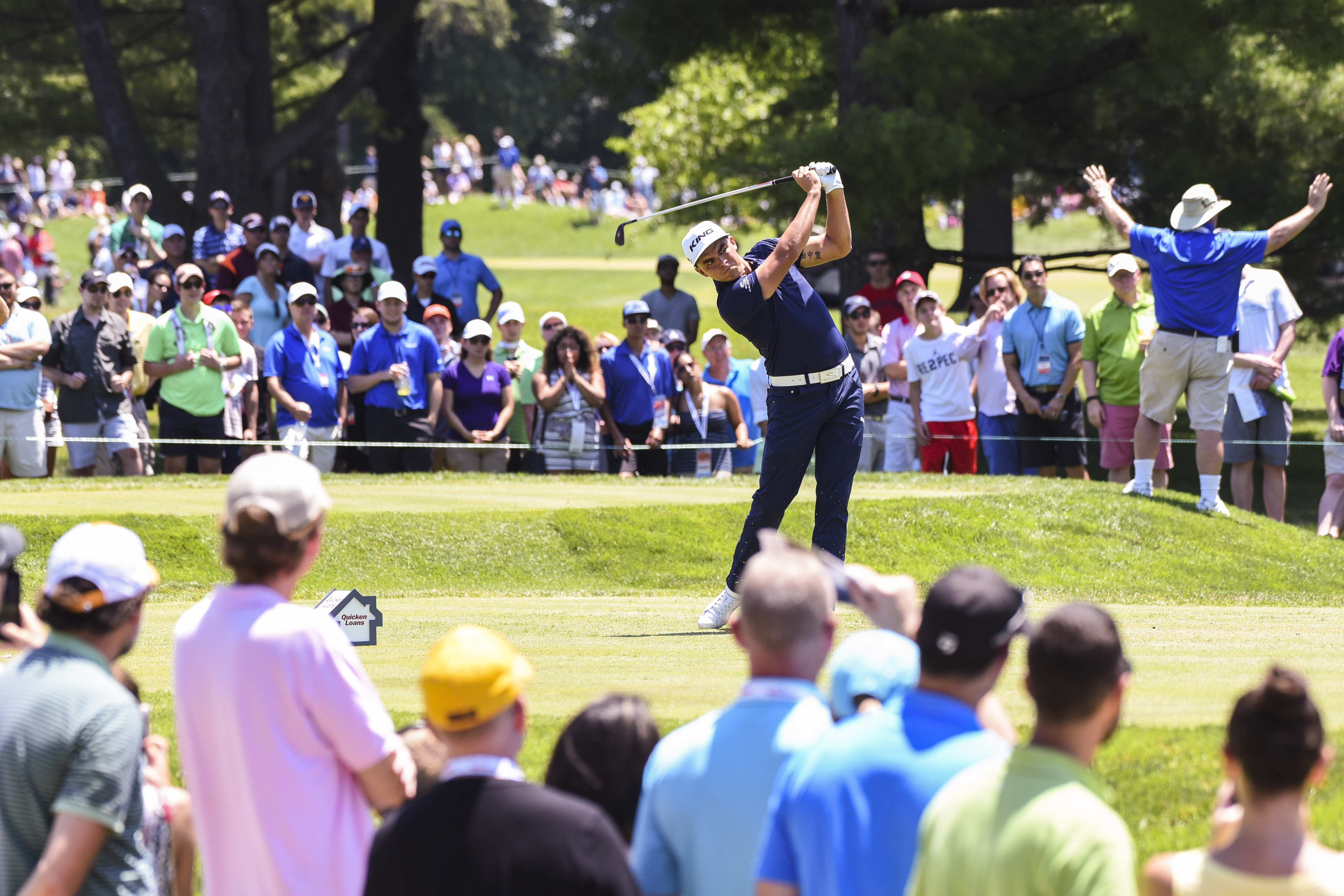 Things to Do in DC Quicken Loans National Rickie Fowler Professional Golf Tournament benefitting the Tiger Woods Foundation TPC Course Potomac MD family fun event