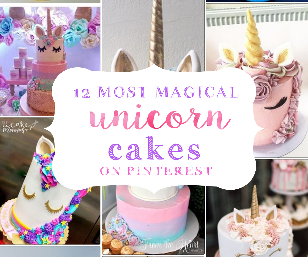 Unicorn Cakes That Will Blow Your Mind Party Ideas