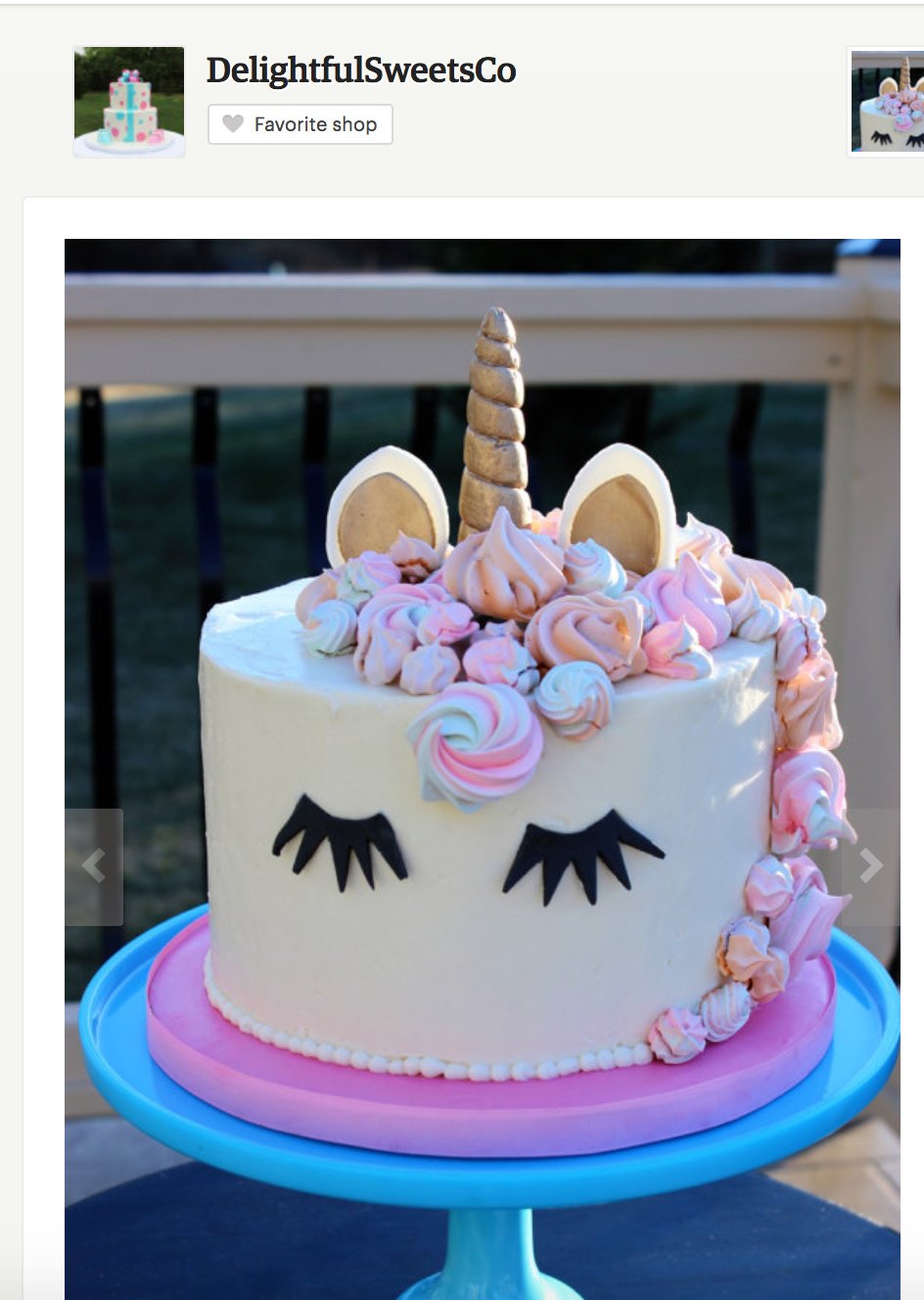 Unicorn Cakes - Unicorn Birthday Party Ideas via frostedMOMS Where to order a magical unicorn cake, unicorn birthday cake