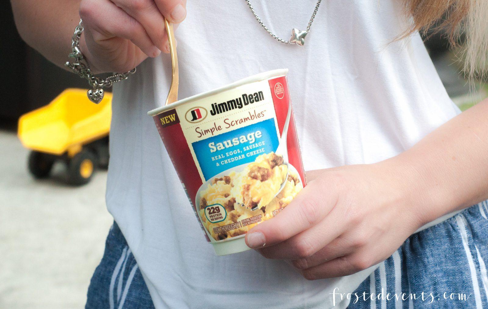 Egg Scramble Breakfast Jimmy Dean Scrambles - Easy Breakfast Ideas You Can Enjoy Any Time of Day