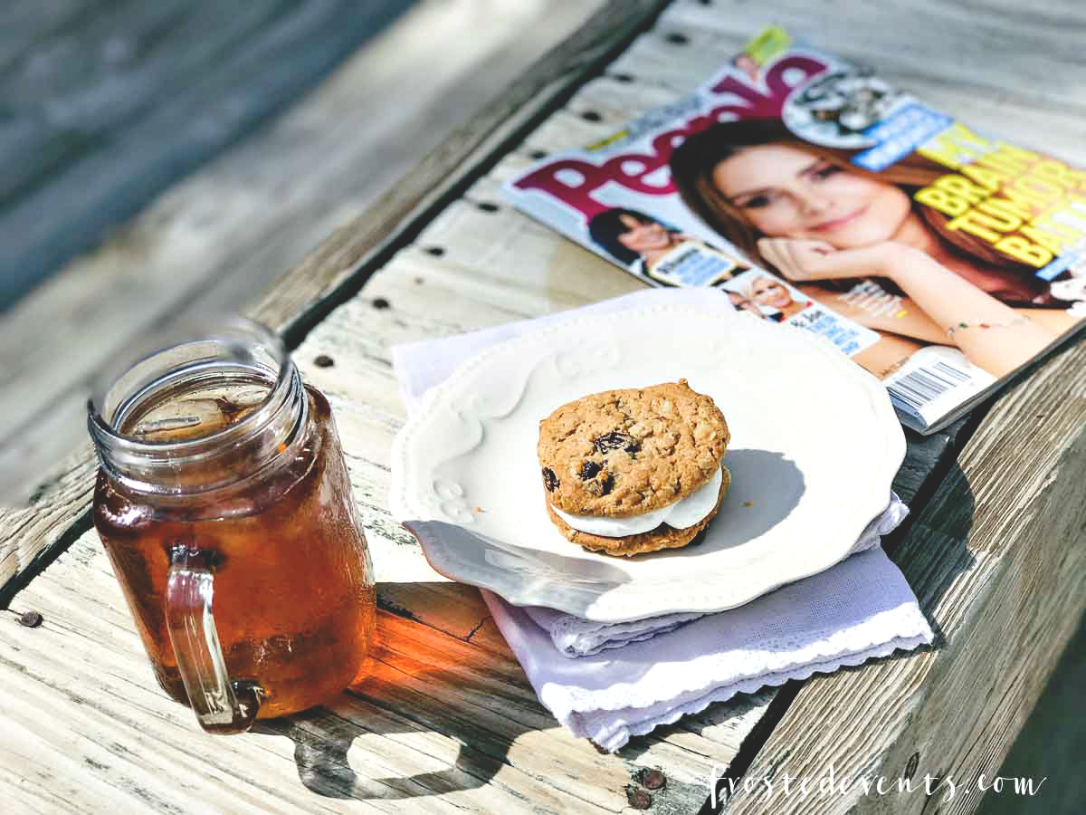 Sweet Tea, Summer Reads and Mom Time Self Care Tips via Misty Nelson frostedmoms.com mom blogger