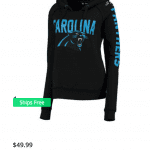 Carolina Panthers Sweatshirt - Carolina Panthers Apparel NFL Fanstyle Football Fashion and Fun via Misty Nelson Influencer and Lifestyle Blogger frostedblog @frostedevents Patriots fashion and Carolina Panthers Fashion