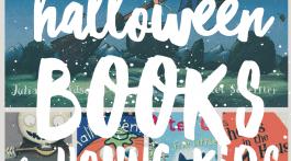 Halloween Books for Kids - Children's Reading List of Halloween Favorites via Misty Nelson, mom blogger @frostedevents