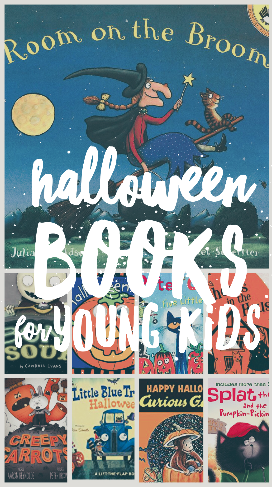 Halloween Books for Young Kids - Children's Books and Reading List for Halloween Fun