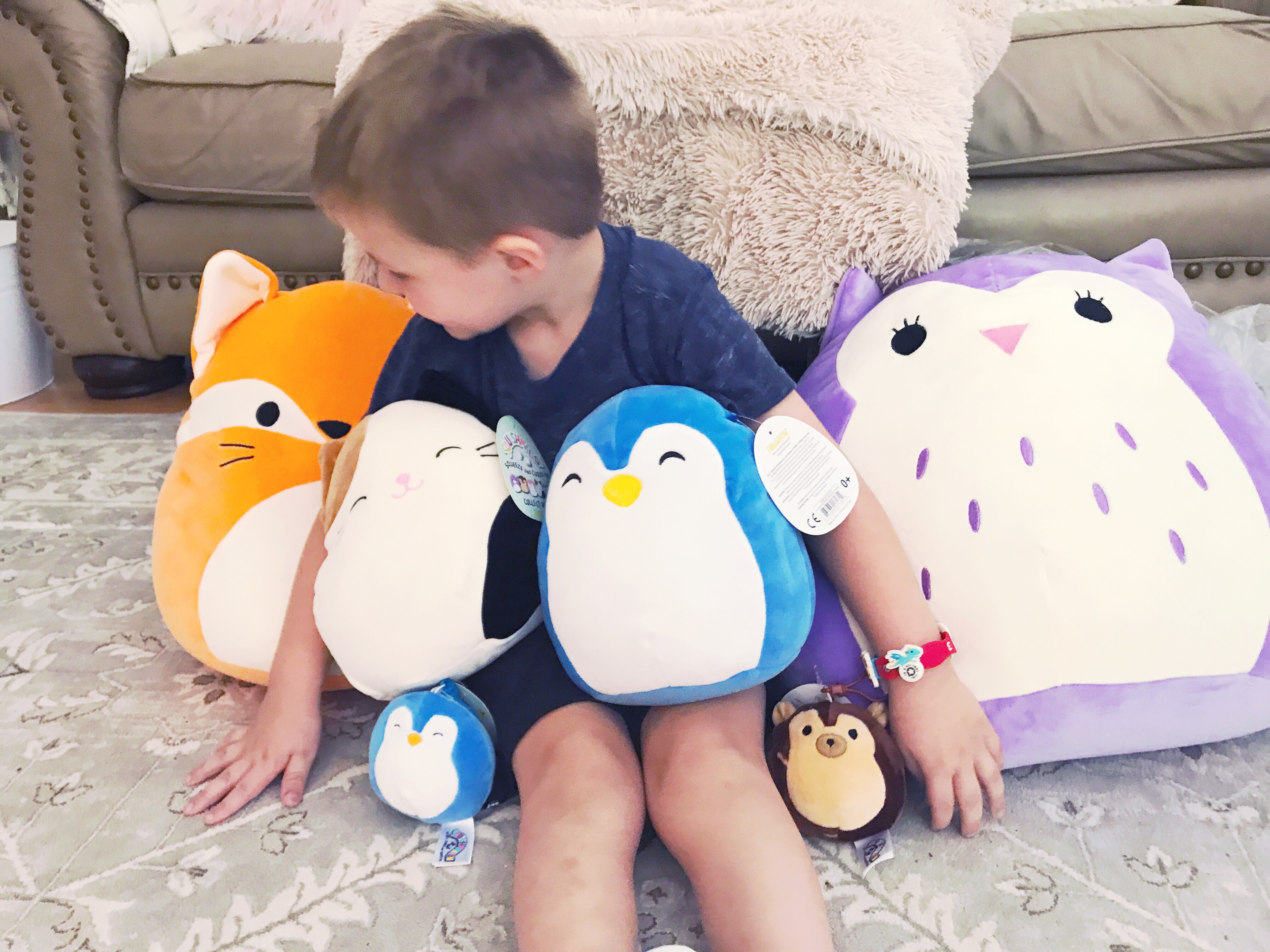 Squishmallows plush toys are the softest things ever!!! Kids you review
