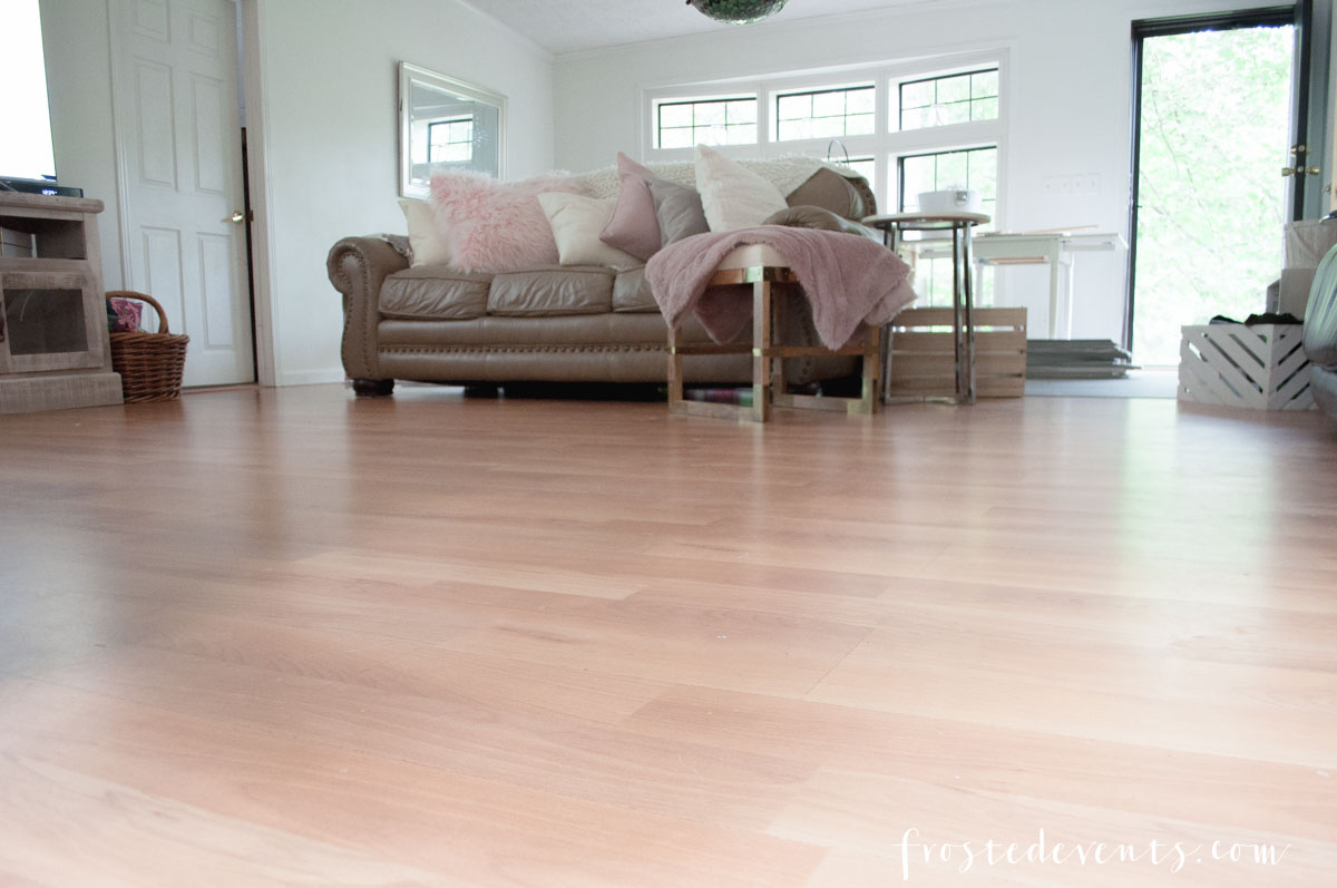 New Flooring - Vinyl Flooring Wood Floors by Tarkett - Home Design via Misty Nelson frostedblog.com @frostedevents