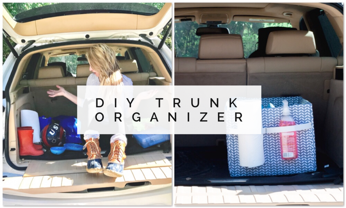 Car Hacks Easy Diy Trunk Organizer For Your Hot Mess Express