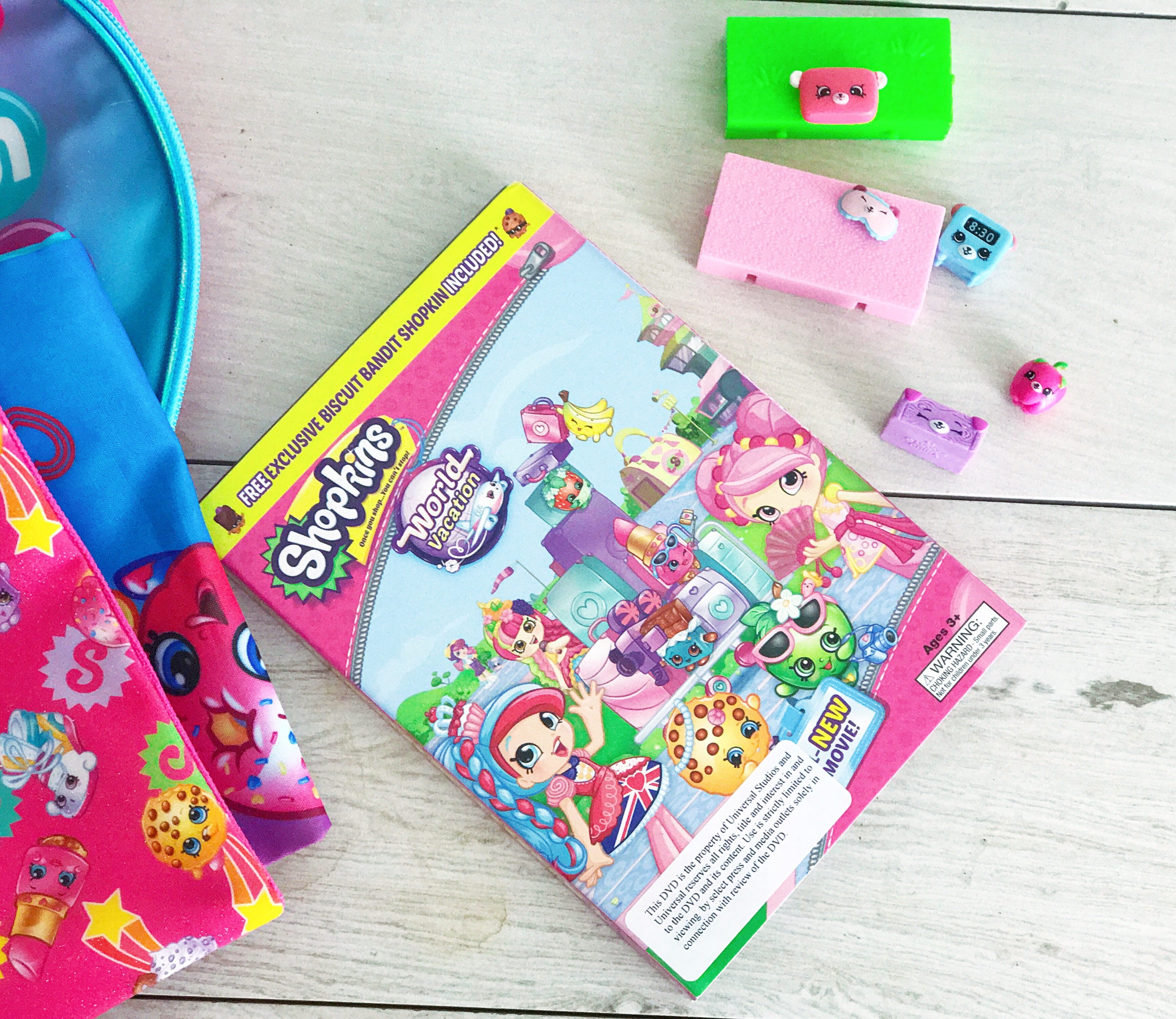 Shopkins World Vacation Party To Celebrate The DVD Movie Premiere