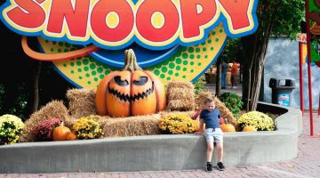 Kings Dominion Halloween Fun Great Pumpkin Fest - Things to Do in Northern Virginia, Family Friendly events via Misty Nelson, mom blog frostedmoms.com