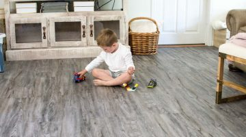 Luxury Vinyl Flooring Reveal! Our Latest Home Renovation DIY Project via Misty Nelson frostedblog