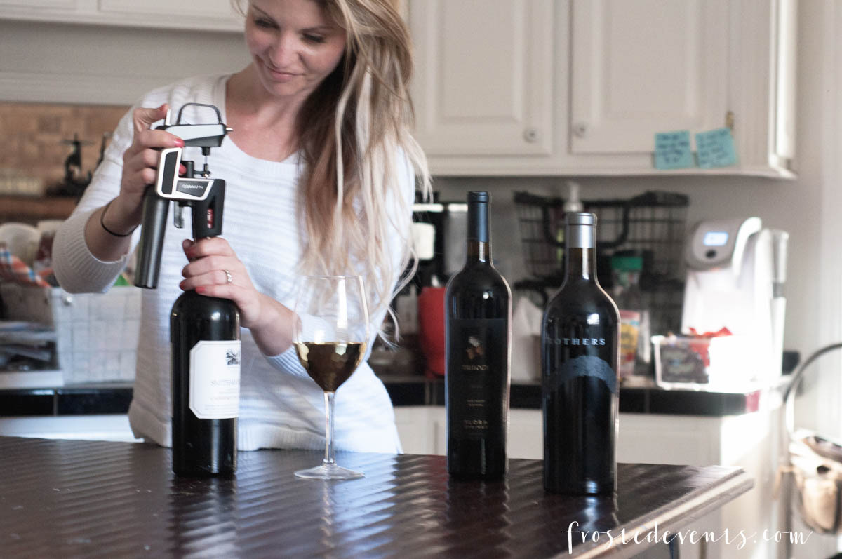 Coravin Best Gifts for Wine Lovers via frostedblog Misty Nelson Best Buy Blogger