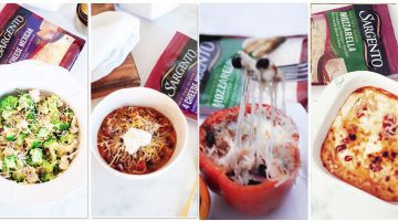 Meal Ideas Made with Cheese Sargento recipes via Misty Nelson frostedevents.com @frostedevents