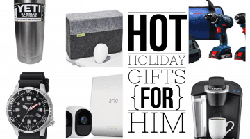 Gift for Husband, Father, Brother or Significant Other... Here's what the men in your life really want this Christmas! Holiday Gift Guide by Misty Nelson, blogger and influencer
