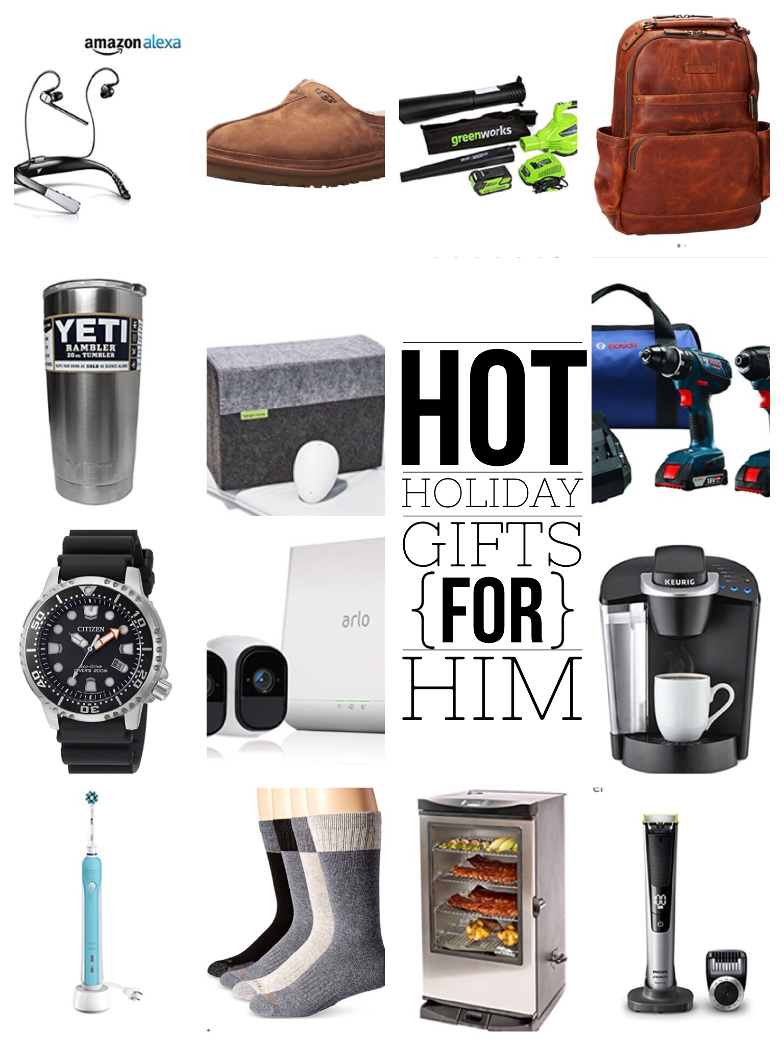 Gift for Husband, Gifts for Him Gift Guide for Holiday Gifts and Christmas Gifts via Misty Nelson, blogger and influencer @frostedevents frostedblog.com