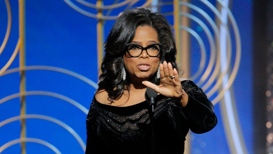 Oprah's Golden Globes Speech 2018 - Oprah quotes, Oprah inspiration