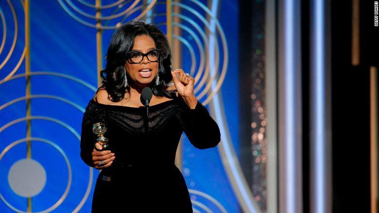 Oprah's Golden Globes Speech 2018 - Oprah Winfrey inspiring words, Oprah Quotes