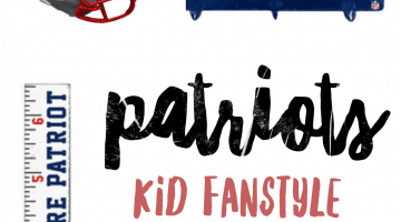 Patriots Fans - Kid Fanstyle Patriots Kids Gear via Misty Nelson, NFL Fanstyle Council Influencer