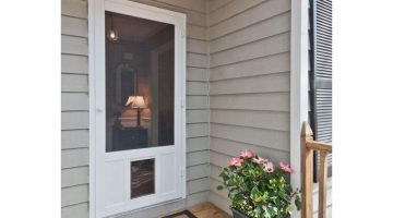 Screen Door and Storm Doors - Home Improvement Ideas via Misty Nelson, frostedblog
