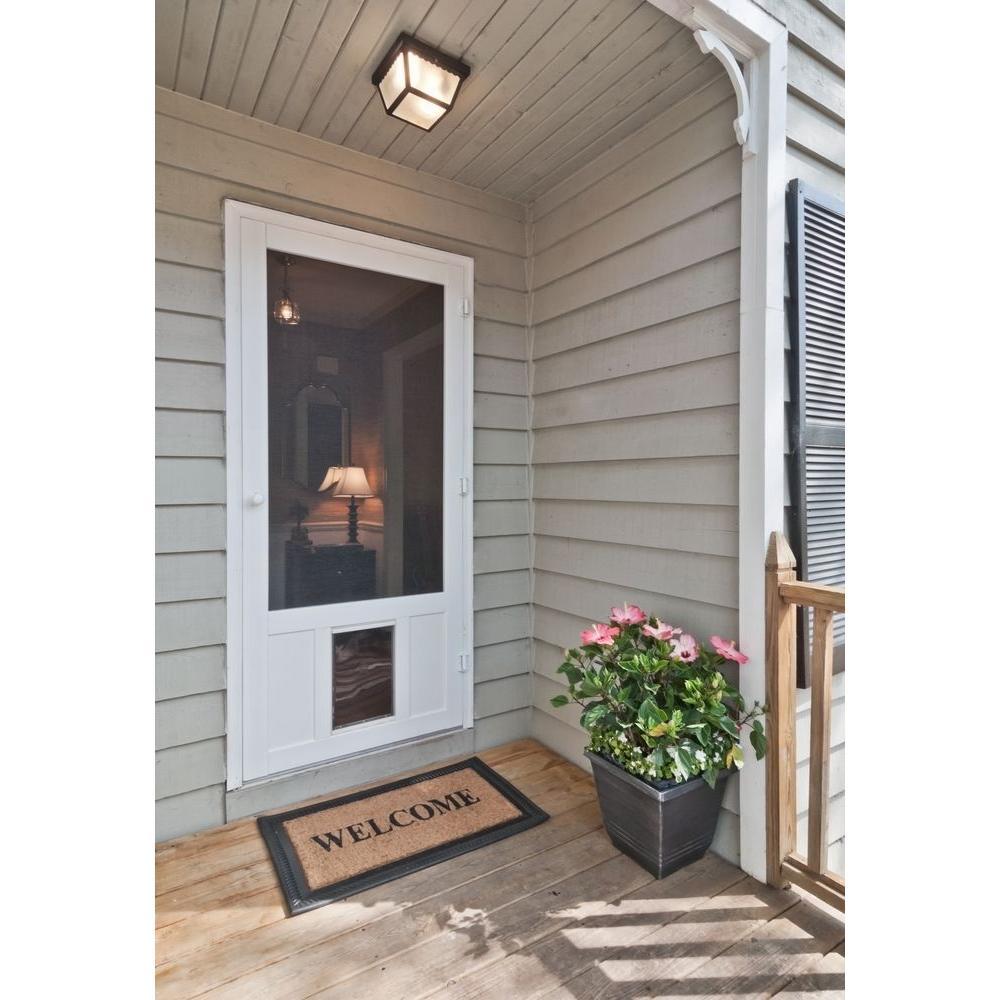 Screen Doors and Storm Doors - Home Improvement Ideas via Misty Nelson, frostedblog
