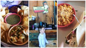 Chattanooga Tennessee Things to Do - Family Travel, Vacation and Spring Break Fun via Misty Nelson Travel Blogger - Taco Mamacita Restaurant