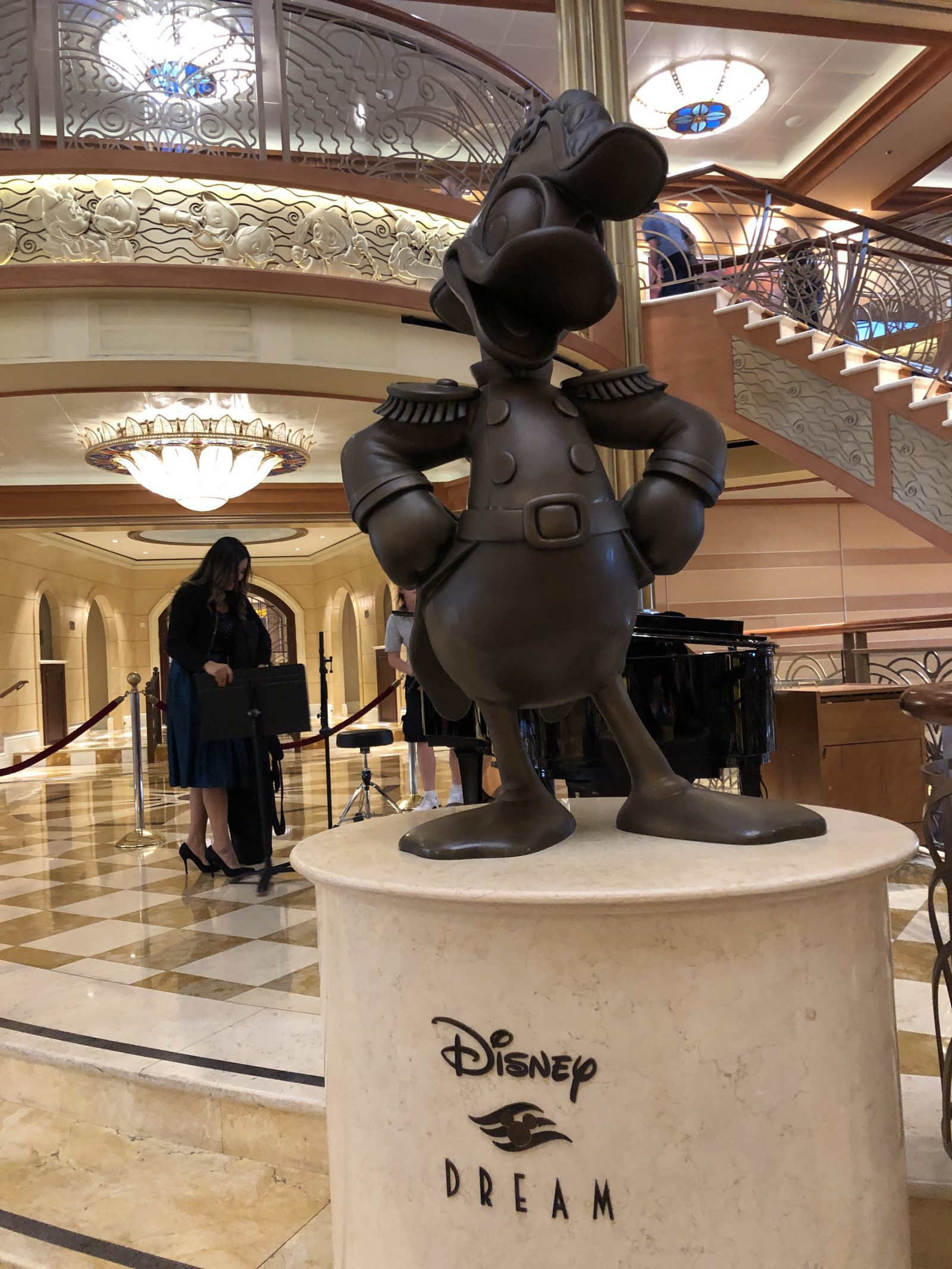 Disney Dream Cruise Ship - Disney Dream Cruise Photos - DisneySMMC Disney Social Media Moms Celebration 2018 via Misty Nelson #disneysmmc #disneymoms