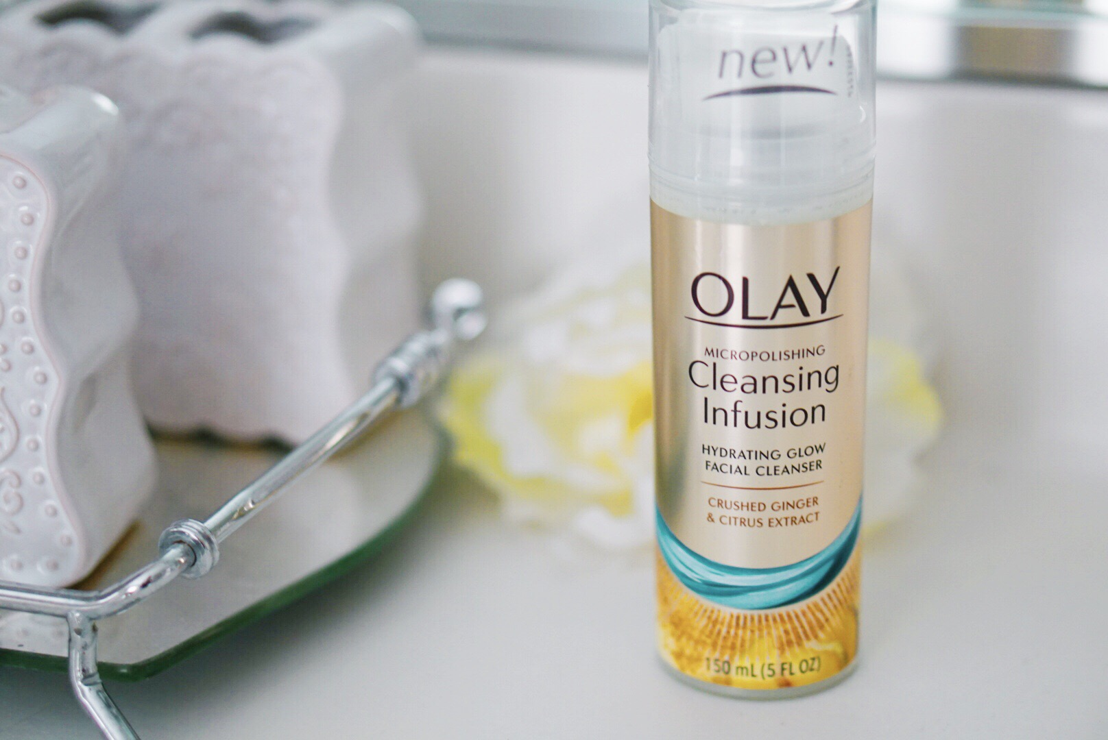 Olay Skincare - Olay Cleansing Infusions Face Wash and Body Wash via Beauty Blogger Misty Nelson frostedBLOG @frostedevents lifestyle influencer