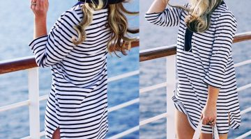 Resort Wear Lands End Outfits from my Holland America Cruise Vacation Style via Misty Nelson, travel blogger and #OMagInsider for Oprah Magazine