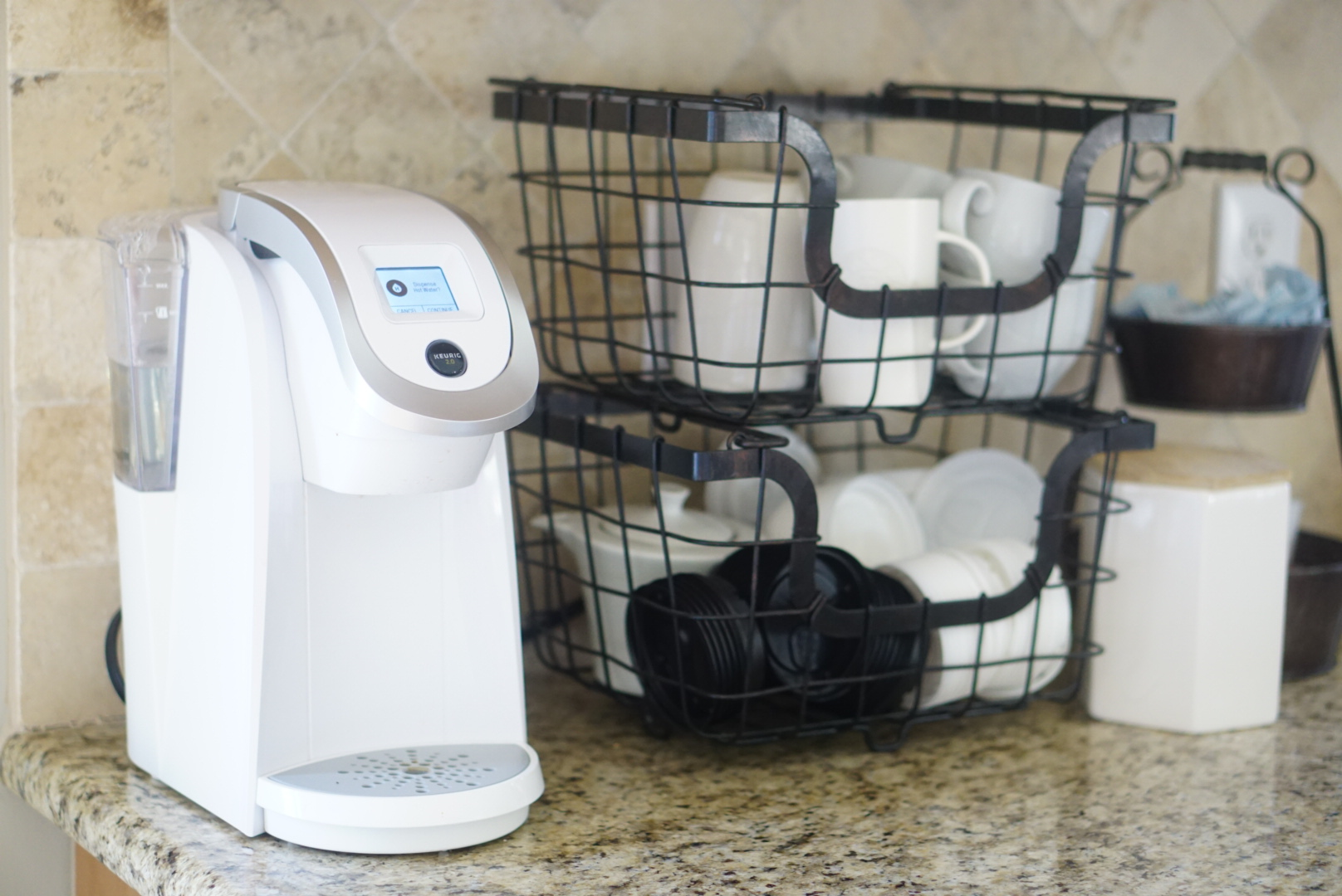 Kitchen Essentials - Keurig Coffee Maker - Shop For no eBay - ebay home goods via Misty Nelson, lifestyle blogger ad parenting influencer mom at frostedblog @frostedevents
