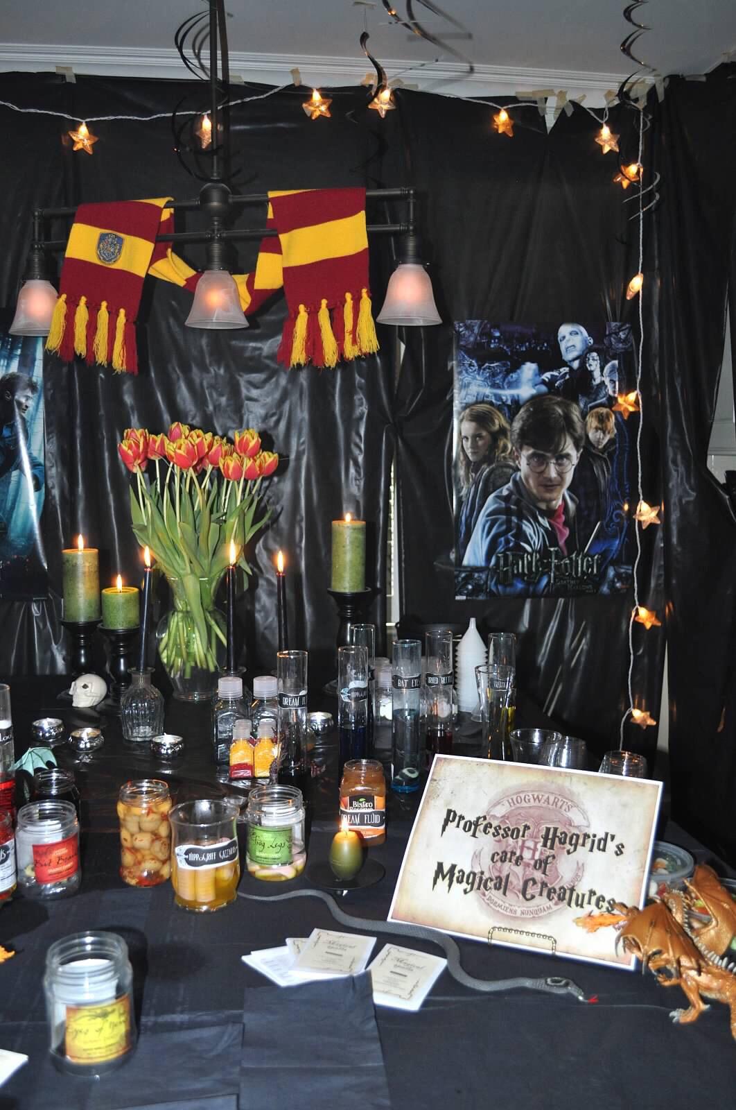 Harry Potter Party Ideas - Harry Potter Birthday Party Ideas and Inspiration, Harry Potter theme via Misty Nelson, frostedblog.com @frostedevents