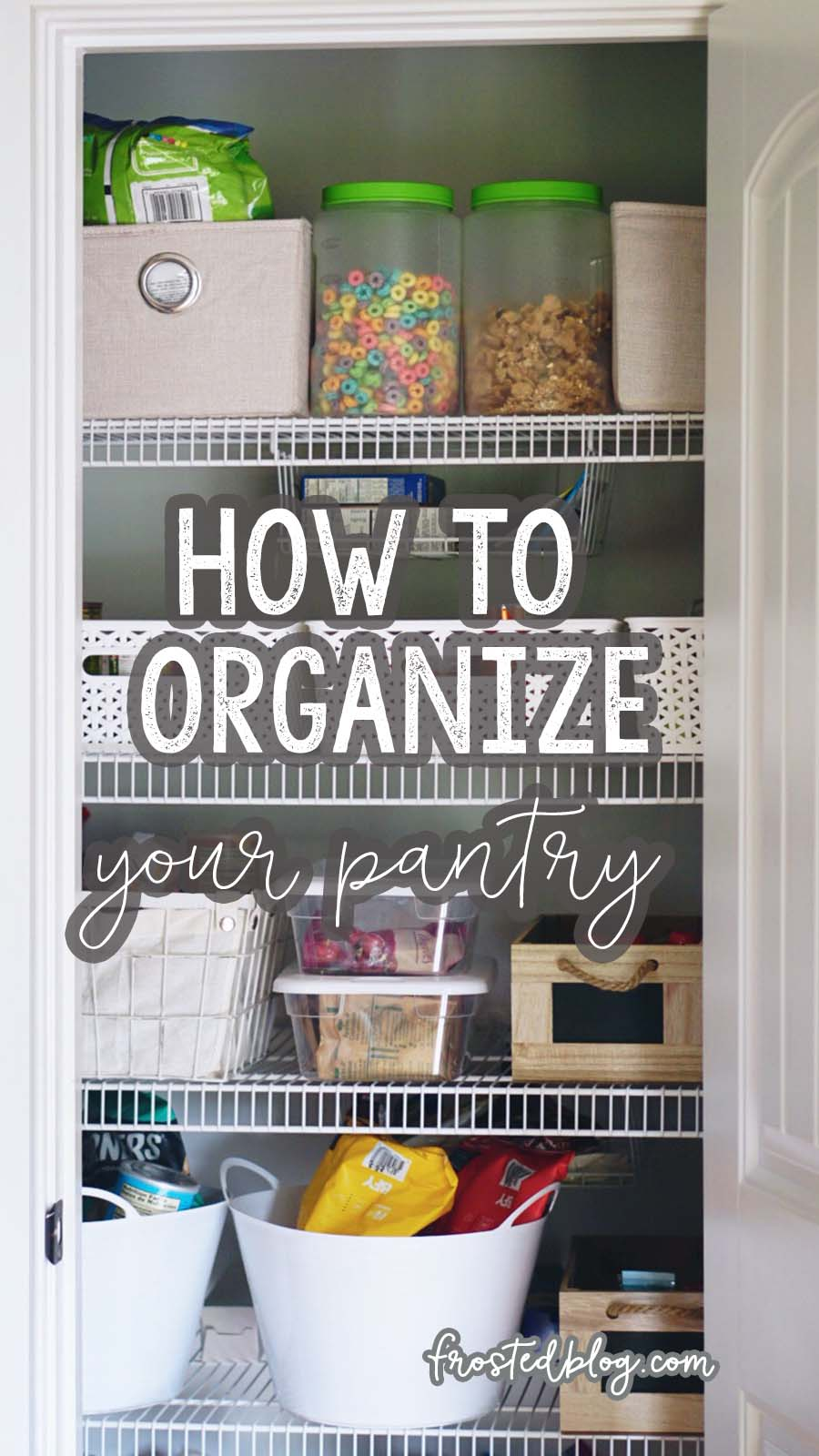 Pantry Organization ideas and Food Storage Tips- Protecting Your Home from Pests with Misty Nelson, frostedblog and Orkin